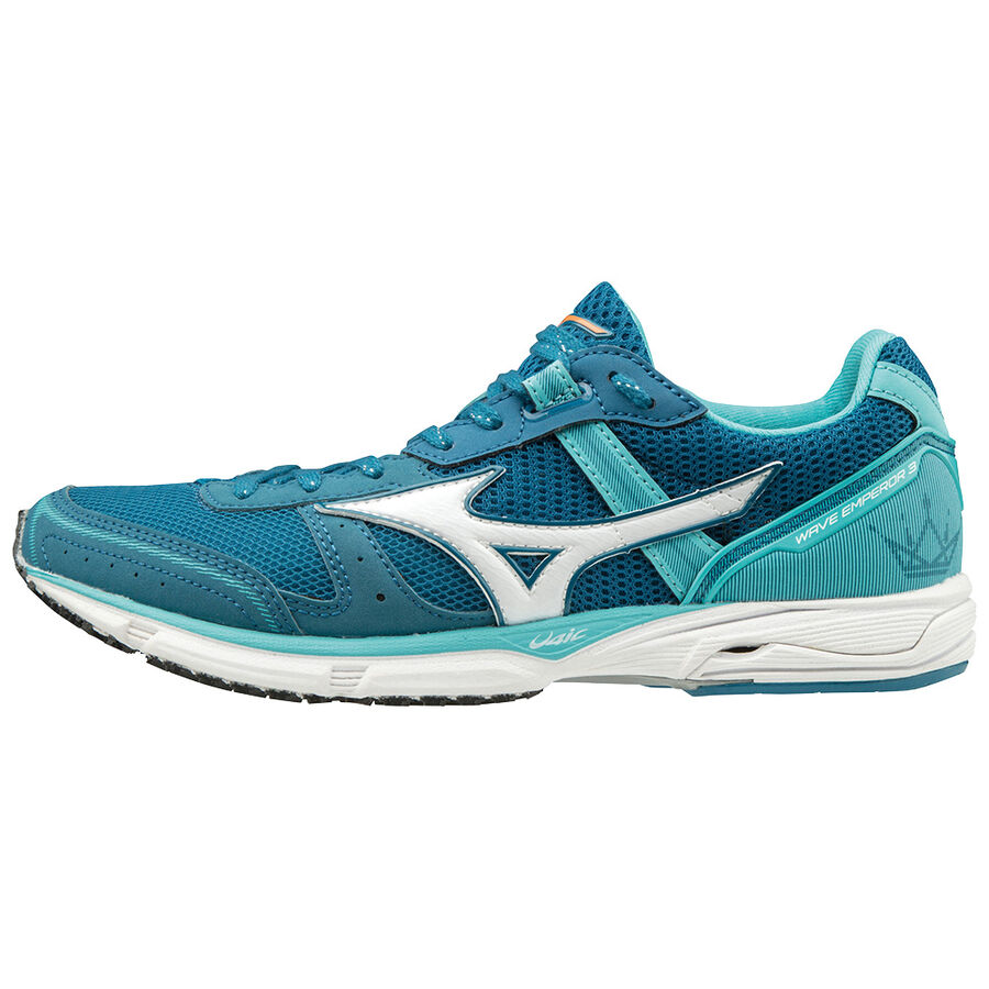 Mizuno Mens Wave Emperor 3 Running Shoes Trainers Sneakers Blue Sports