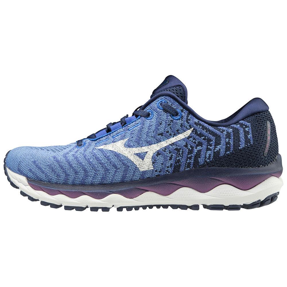 mizuno women's wave sky waveknit 3 running shoe nike