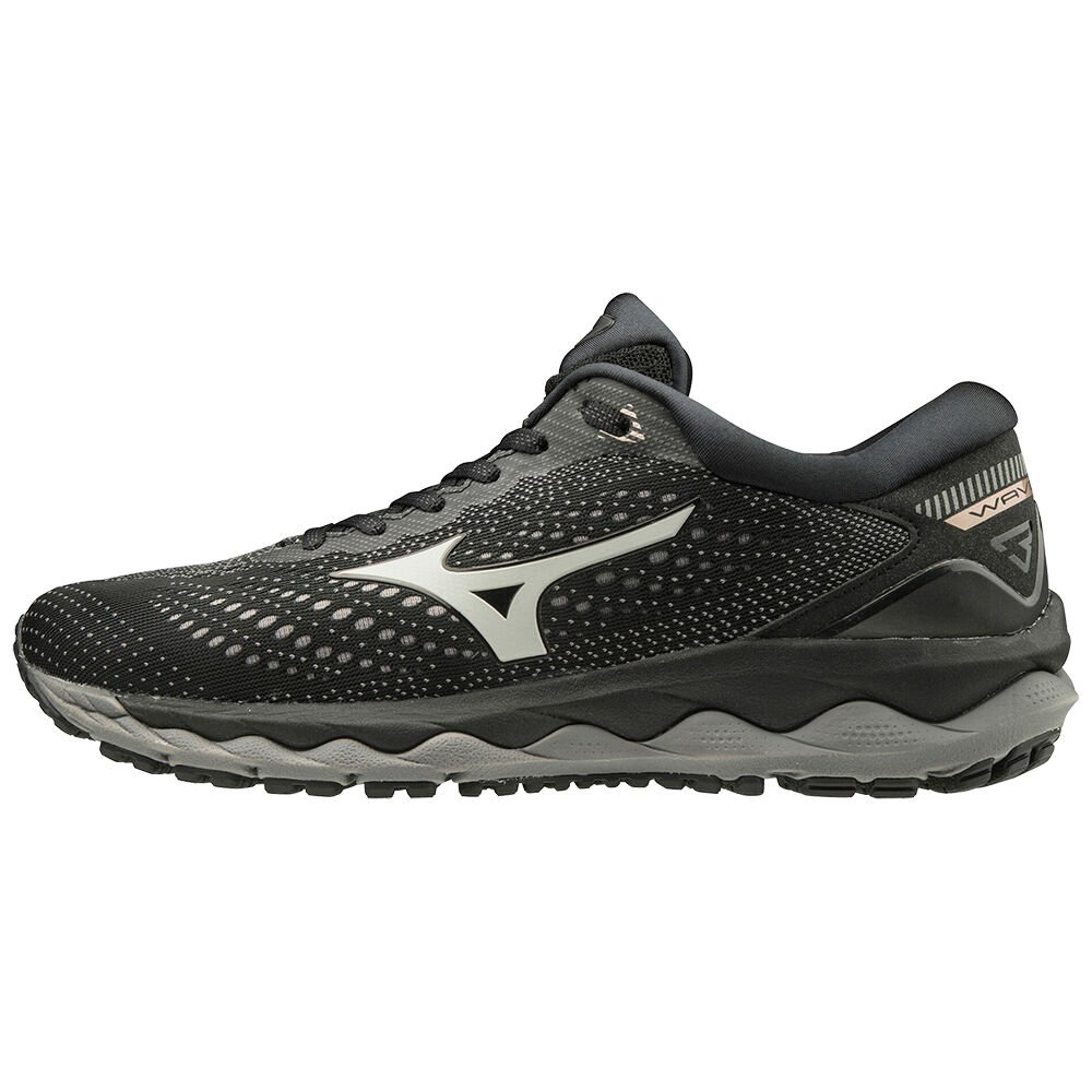 mizuno sky waveknit 3 women's black rose vs