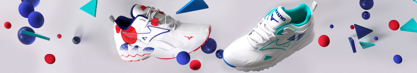 Mizuno footer shape of time