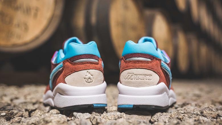 Mizuno x Hanon shoes