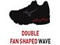 Double Fan-shaped Wave